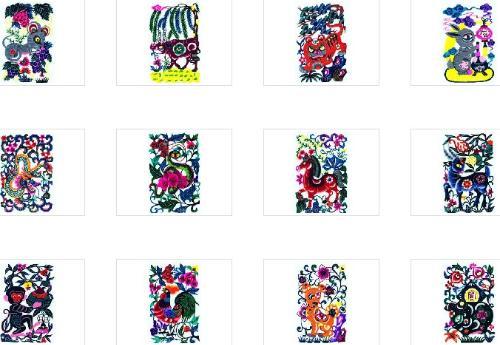 十二生肖图图片