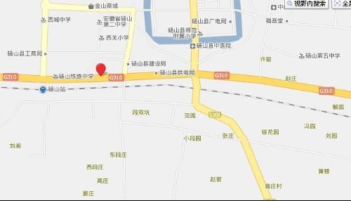 砀山火车站地图