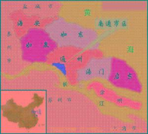 江苏南通市通州区