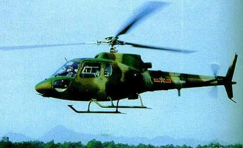 装备阿赫耶2b1a发动机的中国z-11直升机; 我国装透博梅卡公司发动机的