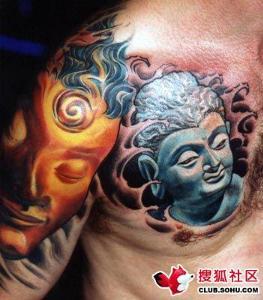 美国摩托车族是这个和纹身联系最密切的一个群体