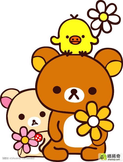 图片 中文名:轻松小熊/松弛熊/懒懒熊/饼干熊/轻松熊)生日:2003年9月 家族成员:一个妹妹