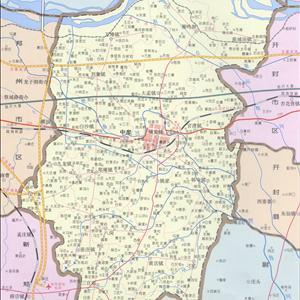 地图: 中牟县地图  (郑州市