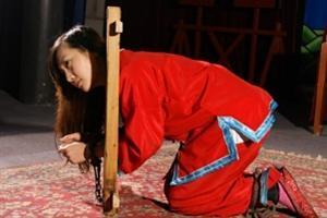 古代囚犯女人囚犯图片古代囚犯犯人图片