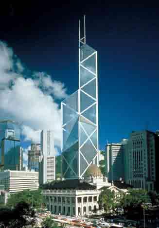 香港手绘建筑物