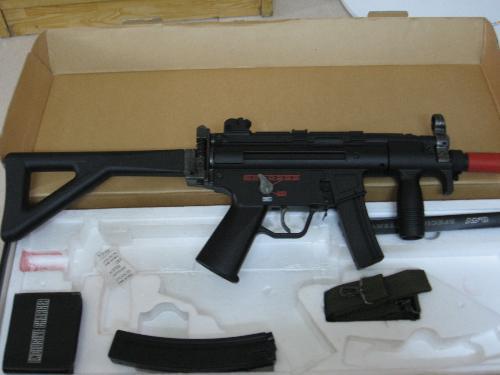 mp5 电动 式 气枪 cf 中 的 大炮 仿真 气枪 高压 气枪