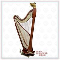 东汉之时,由波斯(今伊朗)传入我国一种角形竖琴,也称箜篌.图片
