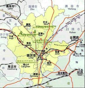 区位上,东靠青岛港,日照岚山港 和连云港,属于亚欧大陆桥东方桥头堡