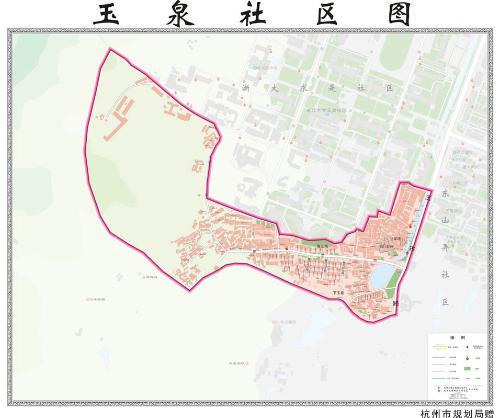社区小地图手绘
