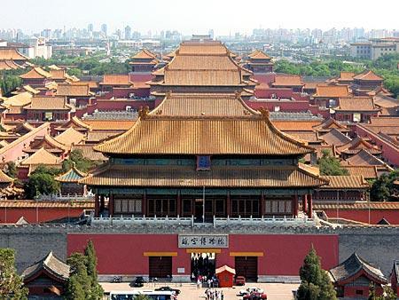 即开始营造紫禁城宫殿图片
