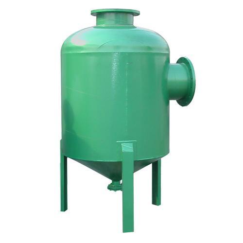 除污器的结构形式按国家标准图r406分为卧式直通除污器,卧式角通除污