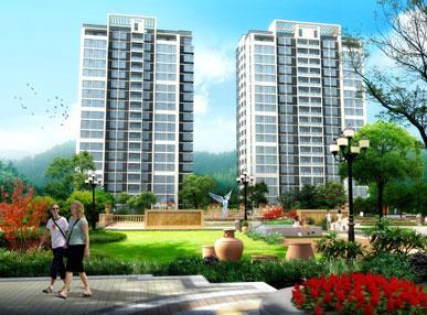 兴业玫瑰山庄景观规划采用欧式设计风格