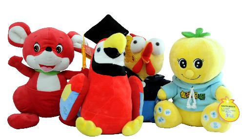 幼儿画报内容联动,可自由更新下载产品系列:红袋鼠