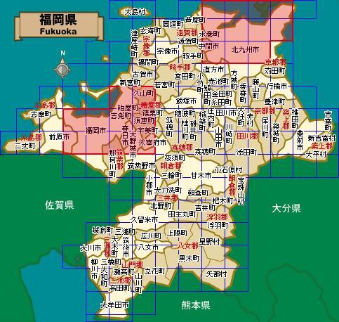 福冈电视塔地图