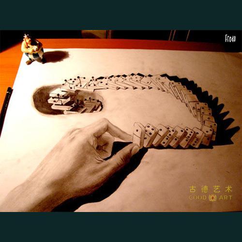 3d素描动物画法步骤