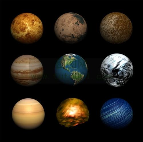 Milky Way Planets in Order - Pics about space
