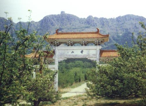 隆昌云峰塔塔顶图片