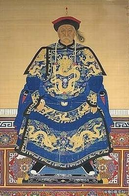 清朝亲王官服图案