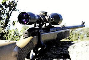 SSG69狙击枪 有些国家特地把这种花纹磨去。