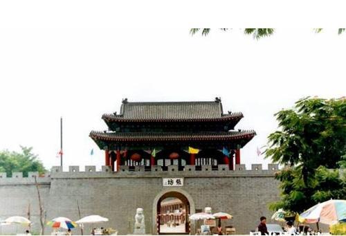 张坊古战道