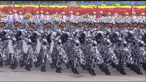 步兵方阵图片