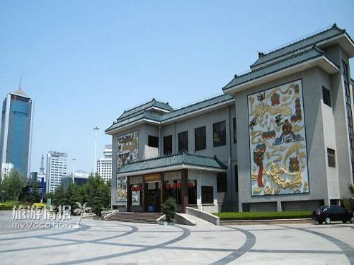 ...南通风筝博物馆是一个