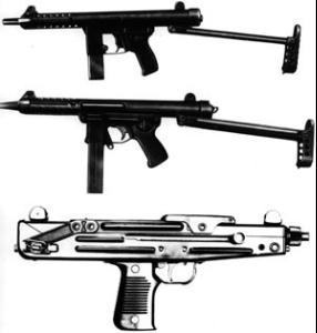 枪的手绘设计图
