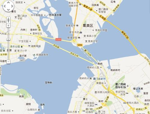 杏林大桥地图