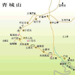 旅游路线图