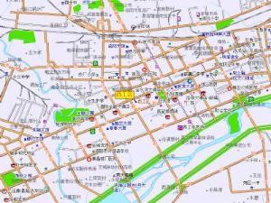 西工区地图
