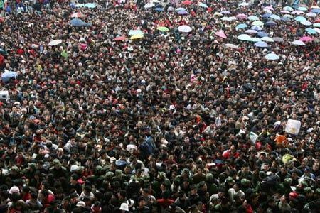 中国春运入选世界纪录协会世界上最大的周期性