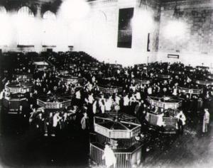 essay about stock market crash