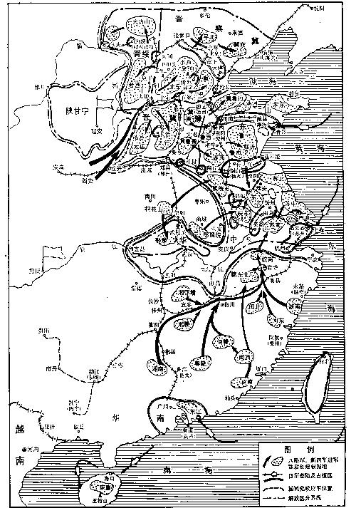 手绘战术地形图