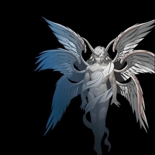 堕落天使路西法纹身