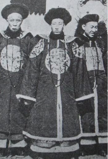 清朝官员服饰