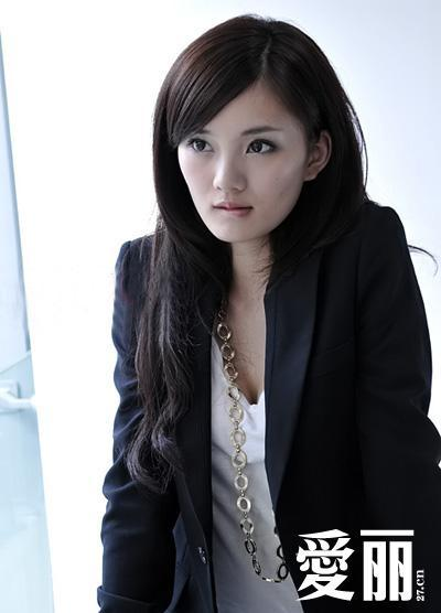 馨子古装编发发型