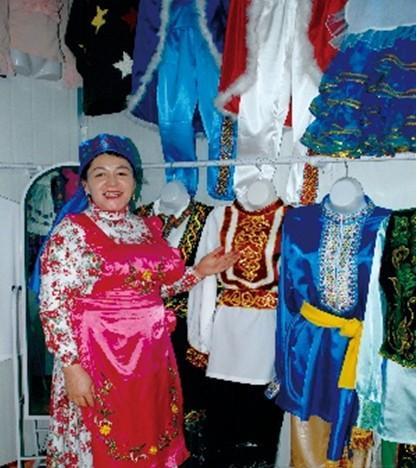 塔塔爾族刺繡