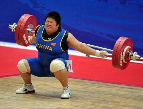 2008年台球举重锦标赛第四名2009女子十一届全运年第举重75kg三库开仑全国图片