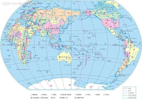 经纬度经过的国家地形
