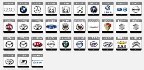 汽车品牌标志矢量图
