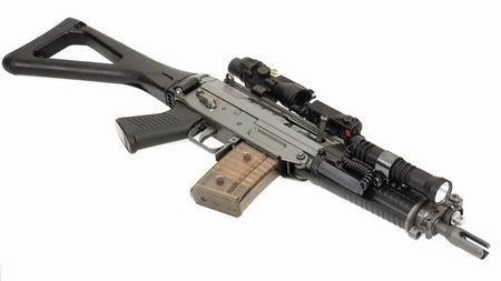 sg552短突击步枪