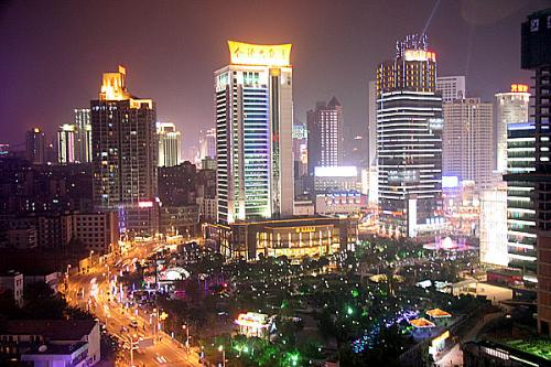 重庆主城区商圈中唯一的城市公园