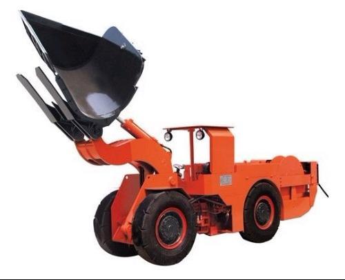 拖式铲运机图片