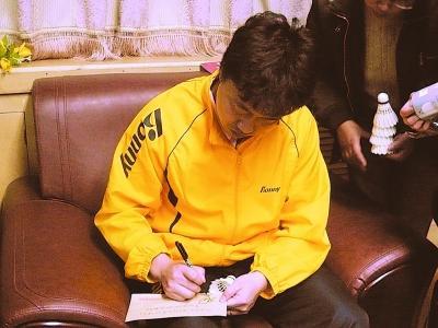 认真工作12位羽毛球冠军国手齐聚山城,也是重庆难得一见的...