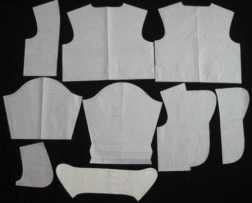 纸样师就是根据服装设计师设计的款式和尺寸