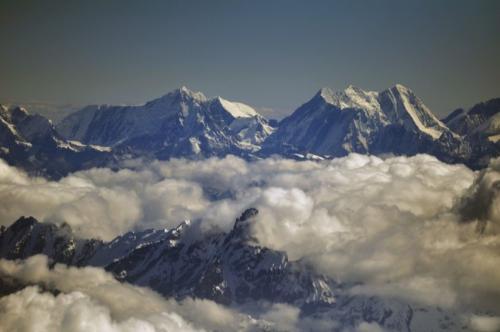 中国最高的山脉简笔画