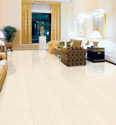 客厅一般选择地板砖.