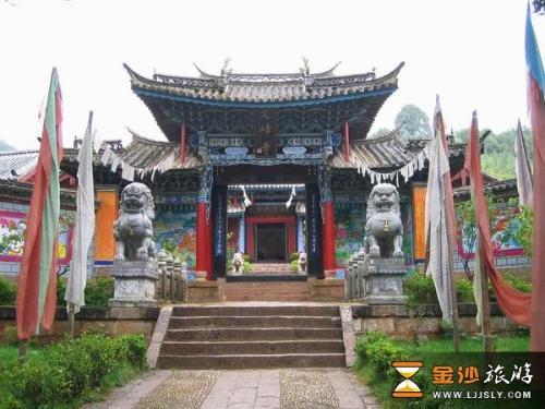 丽江文峰寺丽江文峰寺被公认为丽江所有寺院之冠,文峰寺位...