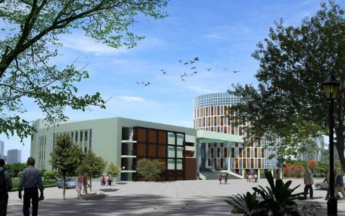 吉林建筑大学规划图,
