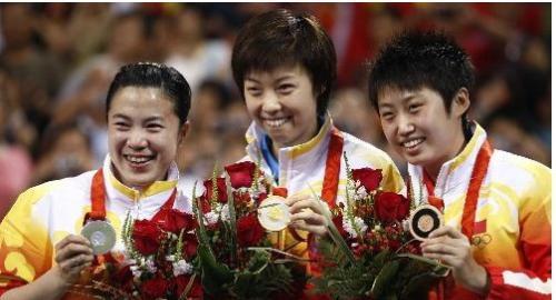 中国乒乓球队图片